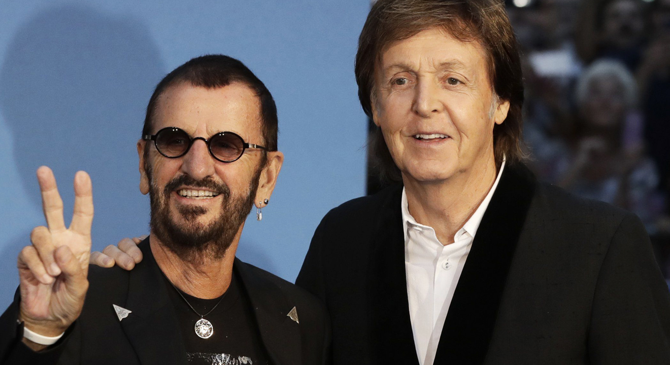 Sir Paul McCartney and Ringo Starr rock the red carpet